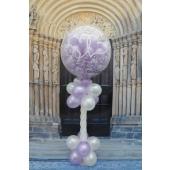 Explodierender Luftballon zur Hochzeit