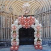 Portal Deko zur Hochzeit