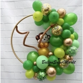 Luftballon-Deko Jungel Party zum Kindergeburtstag