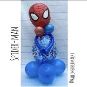 Luftballon-Figur-Spiderman