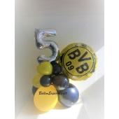 Tischdeko BVB zum Geburtstag