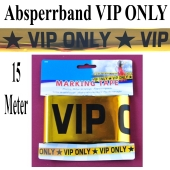 Absperrband VIP ONLY Partydekoration VIP Party