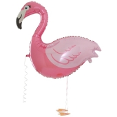 Airwalker Flamingo inklusive Helium