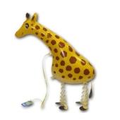 Airwalker Luftballon, Giraffe, mit Helium laufender Tier-Ballon