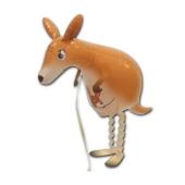 Airwalker Luftballon, Känguru, mit Helium laufender Tier-Ballon