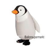 Airwalker Luftballon, Pinguin, mit Helium laufender Tier-Ballon
