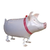 Airwalker, Laufende Tiere, Schweinchen ohne Helium
