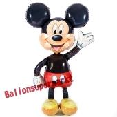 Mickey Mouse Airwalker Luftballon aus Folie inklusive Helium