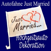 autofahne-just-married-hochzeitswagen-dekoration