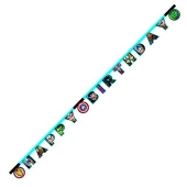 Avengers Mighty Geburtstagsbanner zum Kindergeburstag