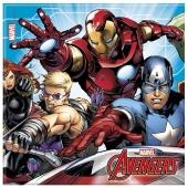 Avengers Mighty Partyservietten 20 Stück
