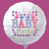 Baby Party Luftballon mit Ballongas-Helium