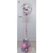 Aqua-Ballon mit Konfetti Ballon