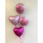 Ballon-Bouquet Herzlich Willkommen