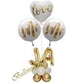 Ballondekoration zur Gay Hochzeit, Mr & Mr in Love - Ja