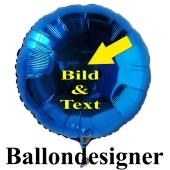 Ballondesigner, Folienballons selbst gestalten, Werbedrucke, Ballondrucke