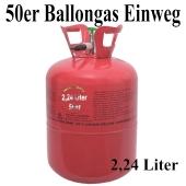 Ballongas Einweg 50er