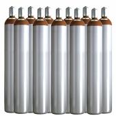 Ballongas Service NRW 11 Ballongasflaschen 50 Liter, 99,996 reines Helium
