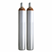 Ballongas Service NRW 2 Ballongasflaschen 50 Liter, 99,996 reines Helium