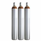Ballongas Service NRW 3 Ballongasflaschen 50 Liter, 99,996 reines Helium