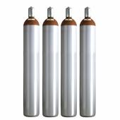 Ballongas Service NRW 4 Ballongasflaschen 50 Liter, 99,996 reines Helium