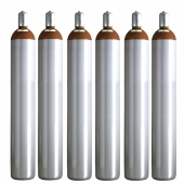 Ballongas Service NRW 6 Ballongasflaschen 50 Liter, 99,996 reines Helium