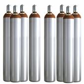 Ballongas Service NRW 8 Ballongasflaschen 50 Liter, 99,996 reines Helium