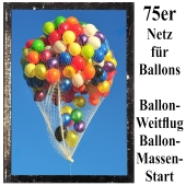 Ballonnetz, Netz für Luftballons zu Ballonmassenstart und Ballonweitflug