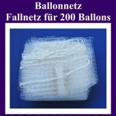 Ballonnetz, Fallnetz für 200 Luftballons