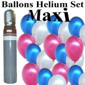 ballons-helium-maxi-set-100-frankreich-luftballons-mit-heliumflasche-partydeko