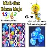 Ballons Helium Midi Set Dekoration Biene Maja