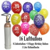 Ballons-Helium-Set-16-Luftballons-mit-Heliumflasche-8-Zahlenballons-8-Happy-Birthday-Ballons
