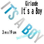 Glitzerndes Banner It's a Boy