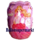 Barbie Dancing Folien-Luftballon, ungefüllt