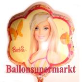 Barbie Butterfly Luftballon aus Folie inklusive Helium
