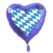 Deko Luftballon, Herz bayrische Raute