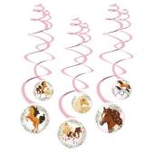 6 Deko-Spiralen Beautiful Horses