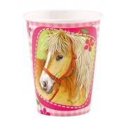Pferde Partybecher 8 Stück Charming Horses 2