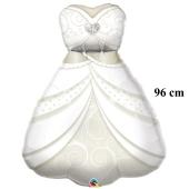 Braut, großer Luftballon aus Folie zur Hochzeit