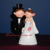 Figur Brautpaar haelt Haendchen