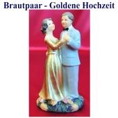 brautpaar-goldene-hochzeit-tischdekoration