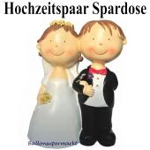 Hochzeitspaar Spardose, Brautpaar Tischdekoration Hochzeit
