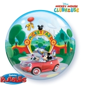 Bubble Luftballon Micky Maus Park