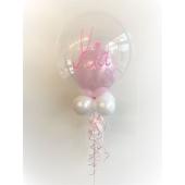 Bubbles Ballon zur Taufe