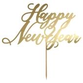 Cake Topper Happy New Year, Dekoration zu Silvester
