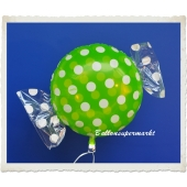 Candy Luftballon aus Folie mit Helium, Dots, Fruits Melon