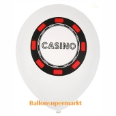 Casino Luftballons, 8 Stück