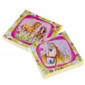 Pferde Servietten zum Kindergeburtstag 2 verschidene Designs Charming Horses 2