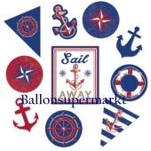 Cutouts mit maritimen Motiven, Anchors Aweigh