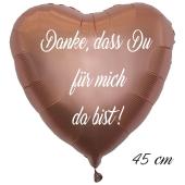 Danke,dass Du für mich da bist! Luftballon. 45 cm inklusive Helium